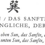 57 – SUN – DAS SANFTE – DAS EINDRINGLICHE – DER WIND