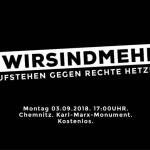 Verschwörung. Chemnitz Schwarz-Weiss