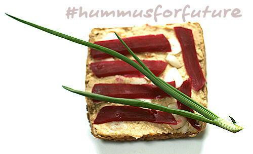 Mit Hummus in die Zukunft